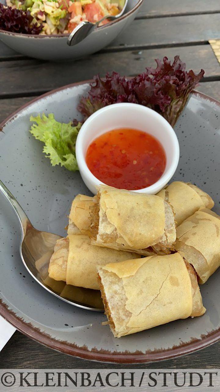Abendessen im Hotel Oasis in Rewal