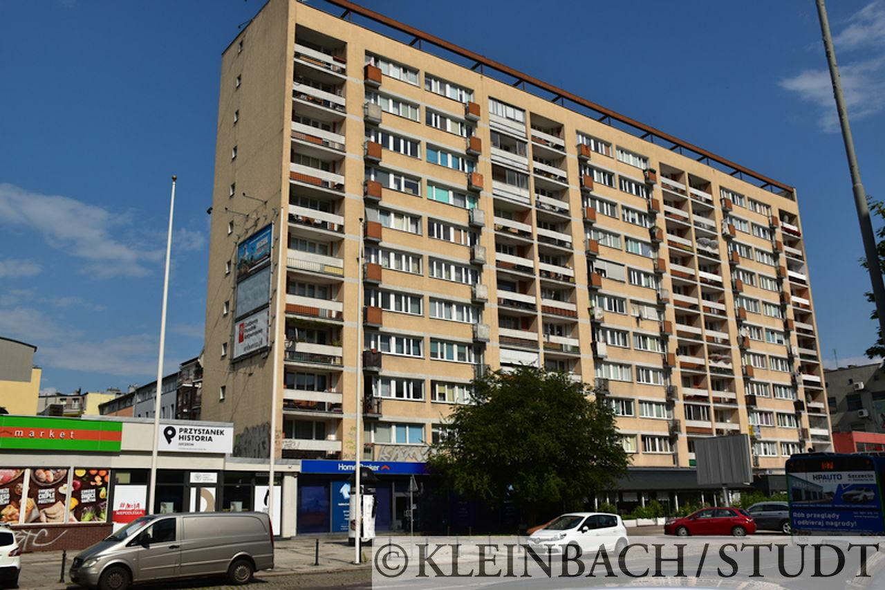 Viele Gebäude in Stettin sind nicht sehr schön