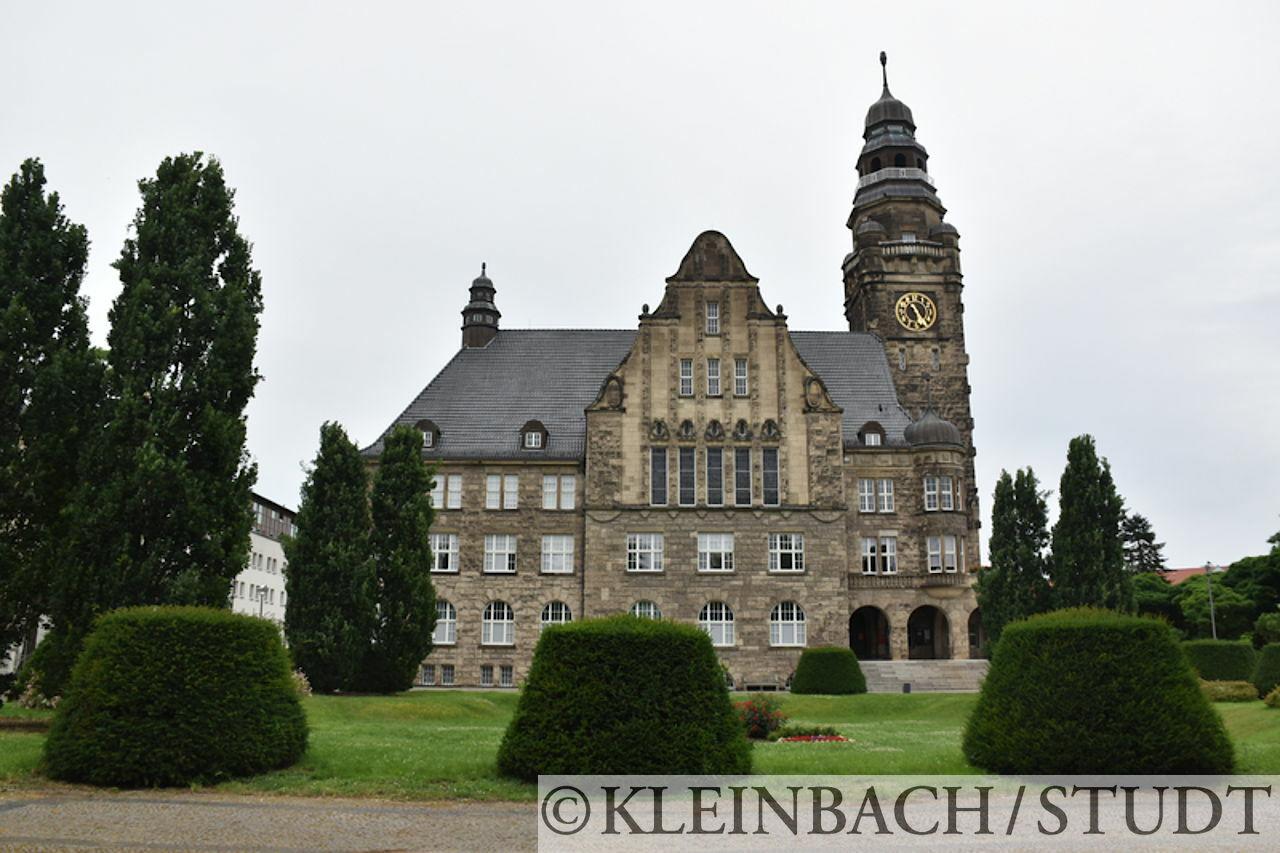 Das Rathaus von Wittenberge