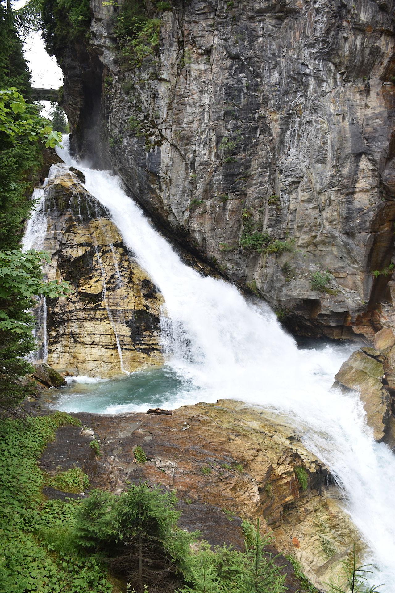Wasserfall mitten in Gastein